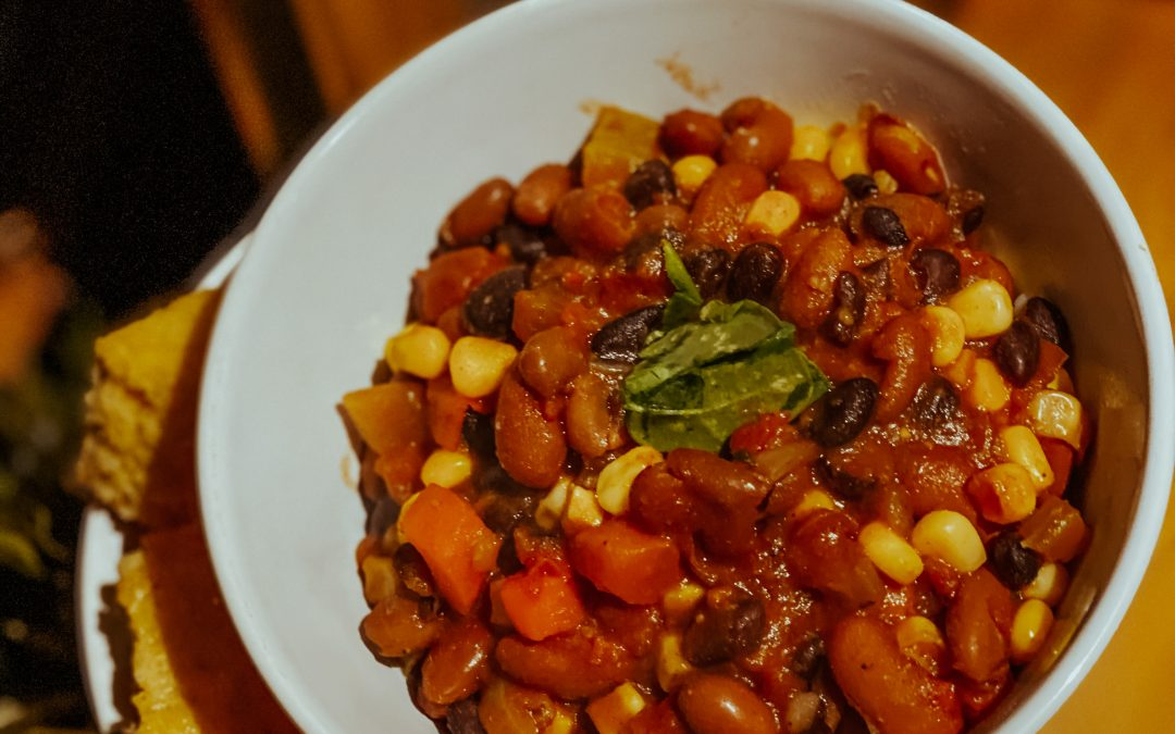 3 Bean Vegan Chili