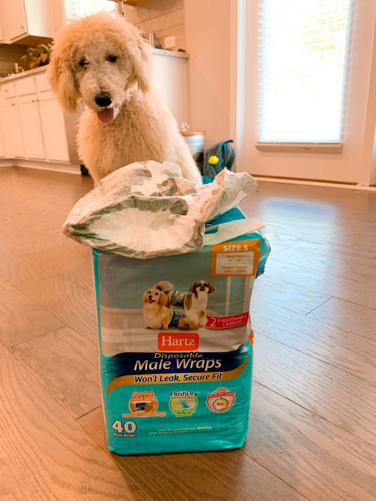 Hartz Dog Diapers and Male Wraps provide superior comfort and fit for leak-proof protection!