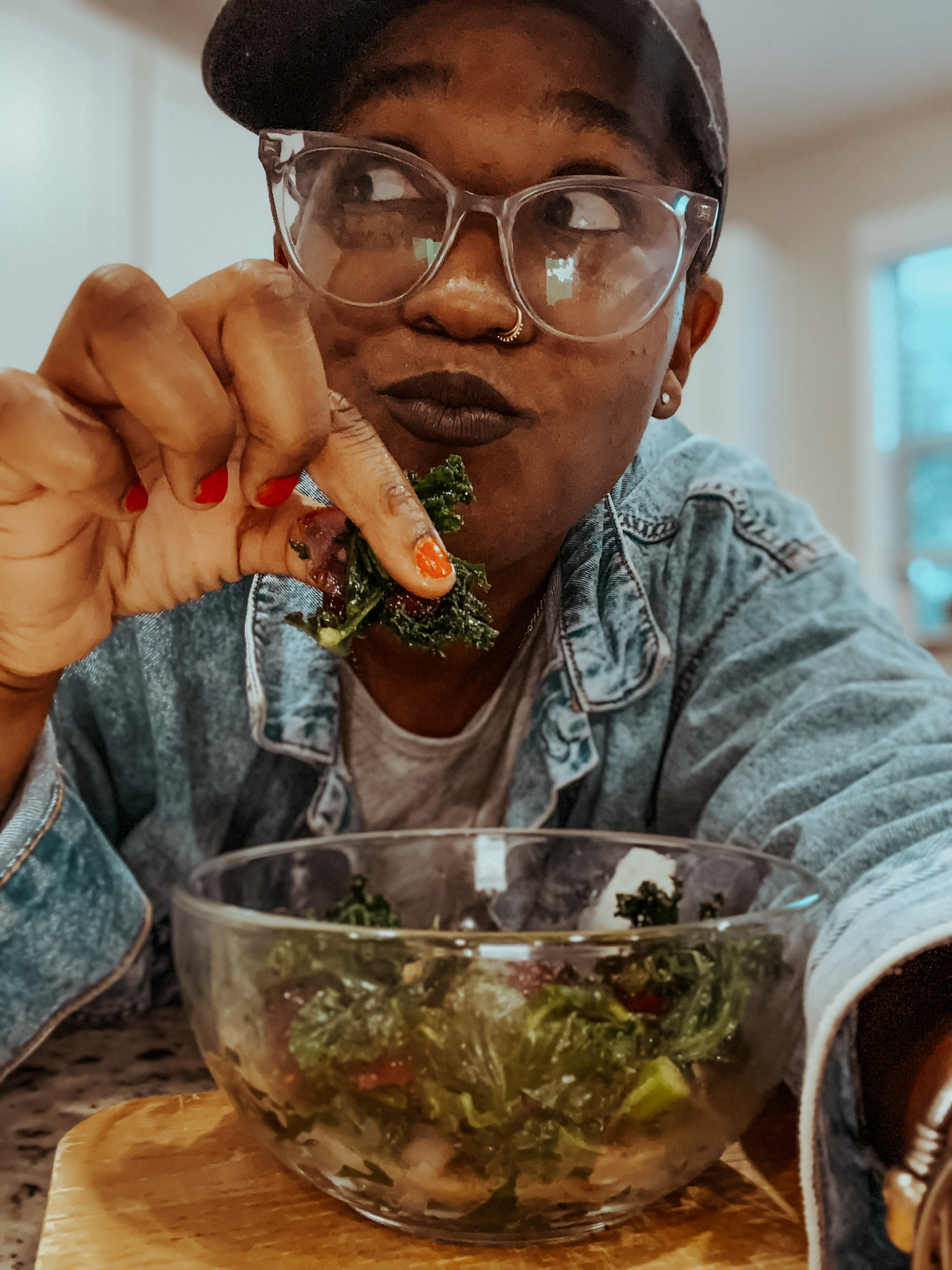 vegan kale greens